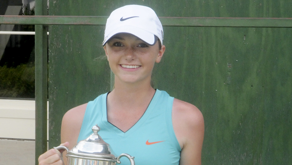 Madison Sanders, from Clanton, won the girls division of the 52nd annual Bud Burns Dixie Junior Golf Championship with a two-day total of 8-over.--Daniel Evans