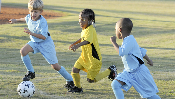 Registration is under way for a youth soccer camp organized by the YMCA of Selma-Dallas County and Judson College. -- File Photo