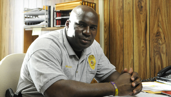 After serving in the U.S. Army, as a national guardsman and active duty non-commisioned officer, Curtis Muhannad took his military knowledge and joined the Selma Police Department, where he has worked for the past 12 years.