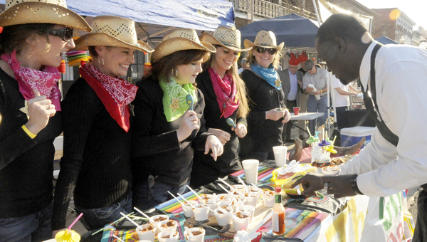 The 3rd Annual Alabama River Chili Cookoff is scheduled for Thursday, March 13 on historic Water Avenue. The deadline to register a team is Friday, Feb. 28. -- File Photo