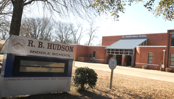 Room for improvement: R. B. Hudson Middle School was the only school in the Selma City School System to declared a 'failing' school by the Alabama Department of Education. (Josh Bergeron | Times-Journal)