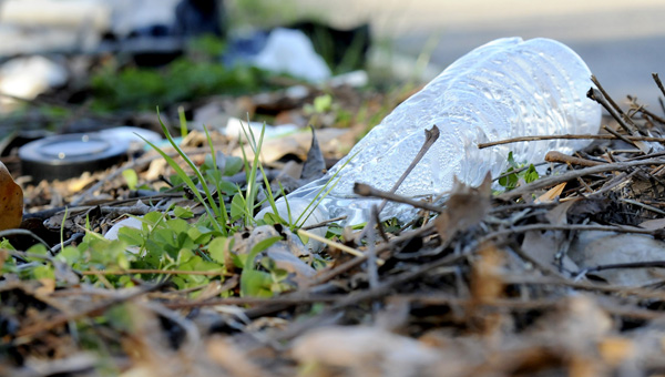 Trash sits along the edge of Church Street Tuesday afternoon. The City of Selma is having a Citywide Trash Pick-Up Day Saturday from 8 a.m. to 3:30 p.m. Selma Mayor George Evans is asking all residents to participate by placing their household trash outside their homes at curbside for pickup.--Sarah Robinson