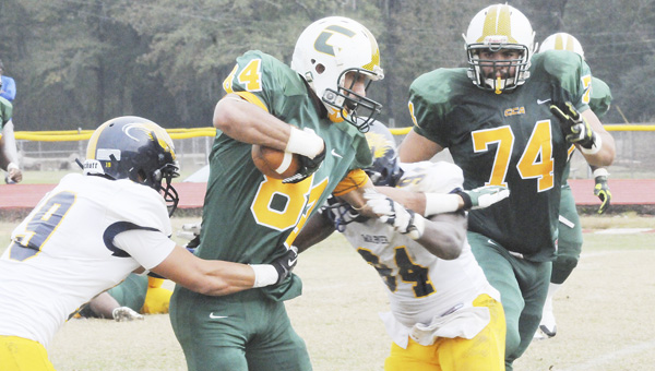 Concordia College Alabama's David Hampton has accepted an invitation to play in the USA Football Bowl at Hoover Metropolitan Stadium Monday, Jan. 20.