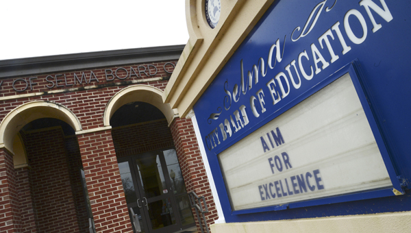 The State Board of Education unanimously approved a resolution Friday, notifying the Selma City School System of its intent to intervene in the system's operations. -- File Photo