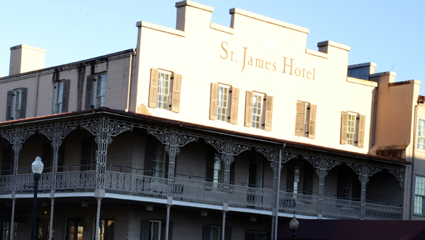 Coming soon: THe St. James Hotel, on Water Avenue, could be under new management in the near future as Selma Mayor George Evans is expected to present Strand Management as his recommendation for management of the hotel.