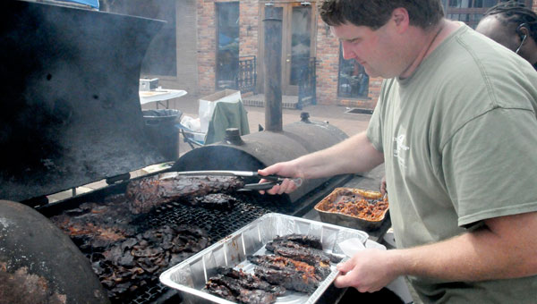 The annual Rock 'n Ribs Benefit will be held in downtown Selma on Water Avenue  April 26.  Proceeds from the event support local charities. (File Photo | Times-Journal)