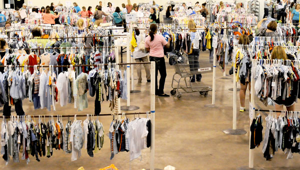 The Little Lamb Consignment Sale will take place at the Old National Guard Armory on April 4 and 5.  Local charities will receive 25 percent of the proceeds from the event. (File Photo | Times-Journal)