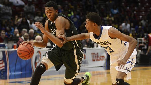 Dallas County forward William Lee led the Hornets to their first ever state basketball championship and is the Times-Journal's 2013-2014 boys' high school basketball player of the year. Lee, averaged 20 points and 13 rebounds this season for the Hornets.--Daniel Evans