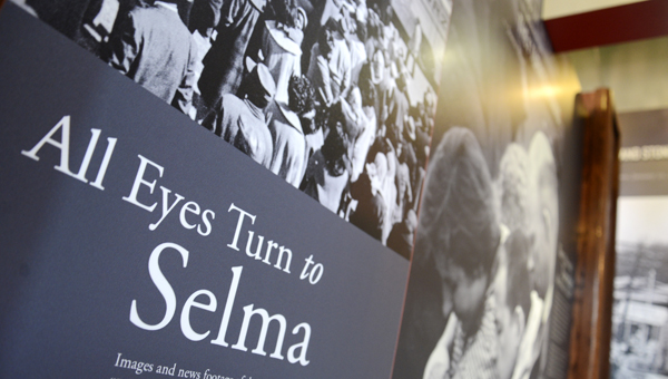 A set of new permanent displays has been erected at the Selma Interpretive Center. The displays provide guests with a comprehensive understanding of Selma's role in the civil rights movement of the 1960's. (Jay Sowers | Times-Journal)