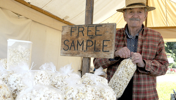 Sutlers are preparing to make their annual return to the area to take part in the Battle of Selma, when they will bring a wide variety of products — including kettle corn — to be offered to those in attendance. --Josh Bergeron