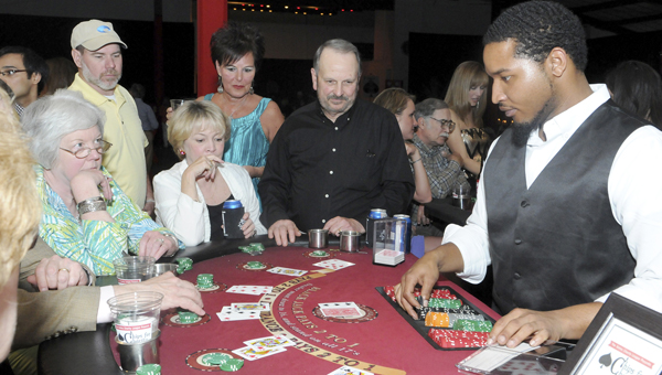 The Selma Charity League has once again organized 'Chips for Charity,' which will be held Saturday evening at the Old National Guard Armory. Proceeds from the event will go to support three local charities. -- File Photo