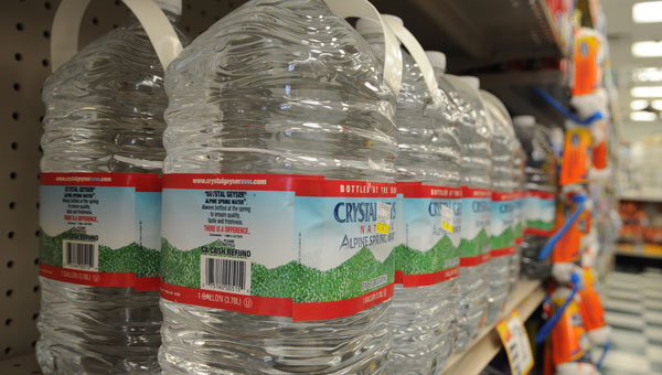 With the hot, humid days of summer not far from their annual return, experts are stressing the importance of staying hydrated at all times for people of all ages. (Daniel Evans | Times-Journal)