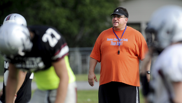 Former head coach at Southside-Gadsden has now joined the Dallas County High School's coaching staff as the head coach for the 2014 football season.   (File Photo| Gadsden Times )