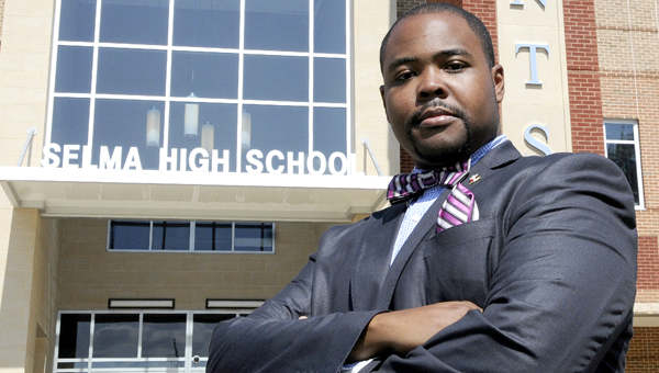 Aubrey Larkin Jr.  has been named the new principal of Selma High School.