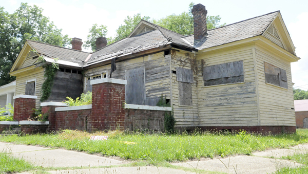 While city leaders consider renaming Lapsley Street for Amelia Boynton, her former house was placed on a list of the state's most endangered places. (Christopher Edmunds | Times-Journal)