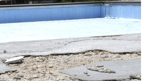 The Dinkins pool in Ward 8 is closed for the Summer but councilman Michael Johnson has received several offers of donations to help fix the pool.