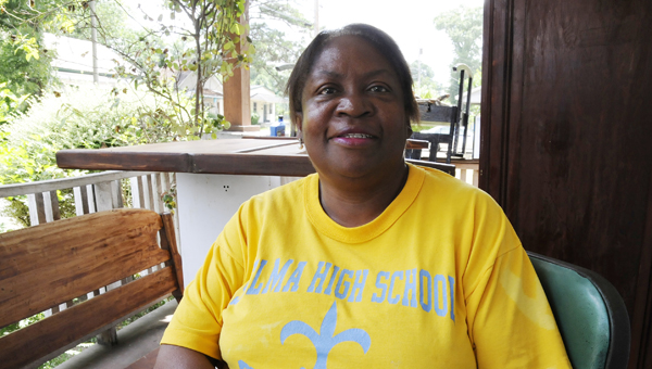 Selma resident Carolyn Smith said she finds joy in helping people every day. Smith said she wants to leave an impression on people that they should be happy. (Scottie Brown | Times-Journal)