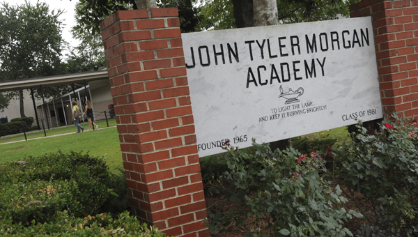 John Tyler Morgan Academy recieved the AISA Class AAA President's Award for the 2013-2014 school year. The award was designed to recognize member schools that achieve academic excellence during the school year. (Sarah Robinson | Times-Journal)