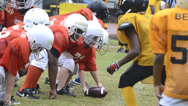 Registration for youth football season is off to a quick start, with over 30 players already signed up in three days. Terry Jackson, football director for the Selma Recreation Department, estimates a total of 650 players will sign up.--File Photo