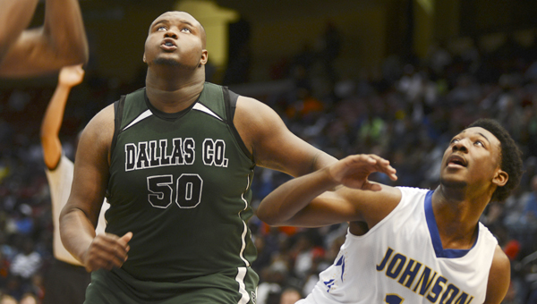 Dallas County's Lowell Furlow helped the Hornets win a state basketball championship last year, but he's getting a lot of attention for his play on the gridiron. Furlow has offers from Southern Mississippi and Mississippi State.-- File Photo