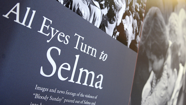 Permanent displays have been erected at the Selma Interpretive Center, providing a comprehensive understanding of Selma's role in the civil rights movement of the 1960s. -- Jay Sowers