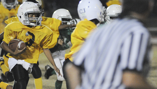 Registration for youth football season will begin Wednesday, July 23 at the recreation office at Memorial Stadium. --File Photo