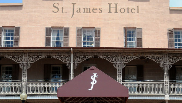 With more local interest, the city could see increased room and event bookings at the historic St. James Hotel. ( File Photo | Times-Journal)