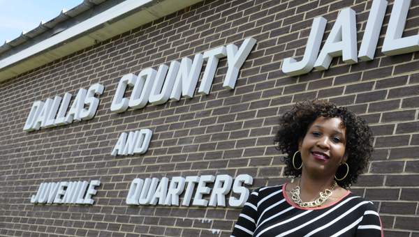 Selma resident Jerria Martin heads to the Dallas County Jail Saturday for her Circle of Hope minstry. During her sessions,  she minsters to female inmates of the jail. (Sarah Robinson | Times-Journal)