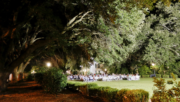 Hundreds of guests turned out for the annual Barbecue on the Green Thursday evening at Sturdivant Hall.  The event is the primary fundraiser for the iconic home and museum in Selma's Old Town.--Alaina Denean