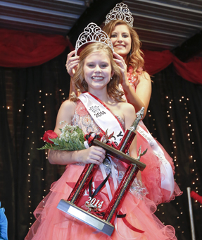 Averee Kathleen Adams was named the 2014  Young Miss Central Alabama Fair queen Tuesday night. She is a student at Morgan Academy.--Alaina Denean