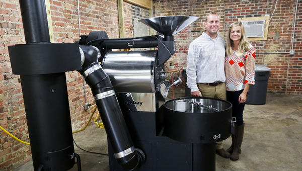 Selma native Ryan Bergeron is preparing to open Revival Coffee Company, a local roaster that will be housed at the Arsenal Place.