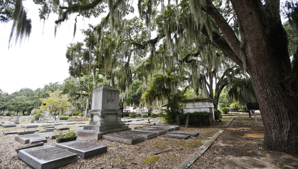 The Haunted History Tours are back for the eighth year,  and Live Oak Cemetery is one of the several places guests can expect to see on the moonlit tour.