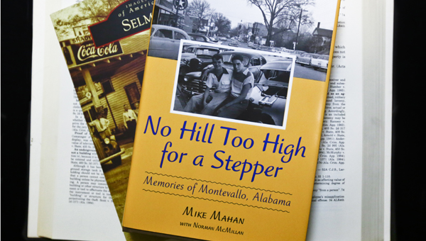 "Montevallo author Mike Mahan, author of  ""No Hill Too High for a Stepper,"" will speak at the Nov. 6 Lunch at the Library."