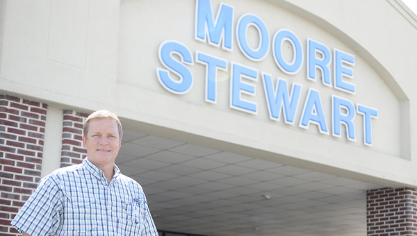 Todd Stewart and Moore-Stewart Ford are celebrating their 20th anniversary in Selma this week.--Daniel Evans