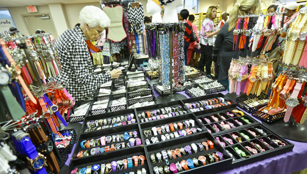 The Vaughan Regional Medical Center Auxiliary's masquerade jewelry and accessories sale continues Friday.