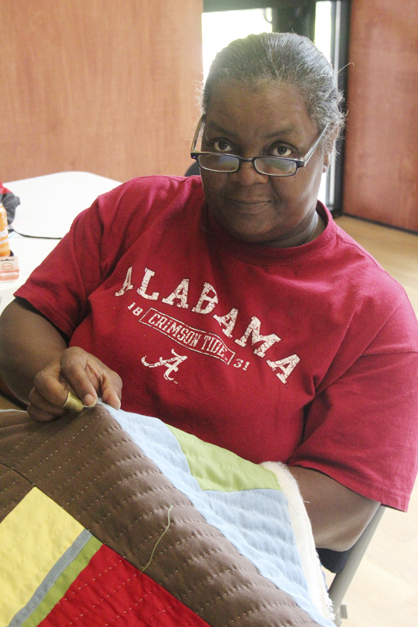 Gee's Bend quilter Mary Margaraet Pettway will be the Selma Art Guild's Artist of the Month for February.