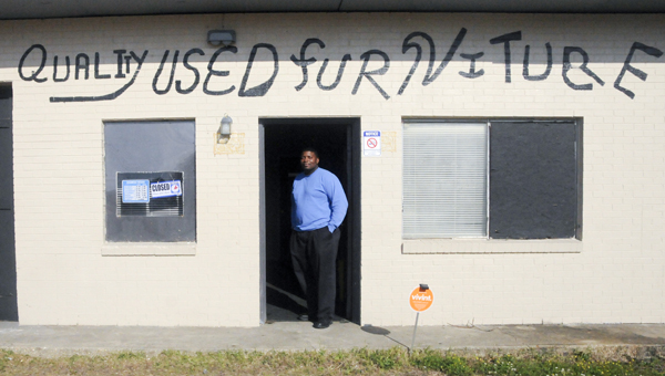Selma native Jermaine Marshall will open Quality Used Furniture on Tuesday.