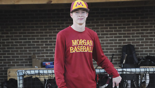Morgan Academy senior Miller Spivey has high hopes for himself and his baseball team in his senior year.  He believes his team has the pieces in place to win a state championship this season. — Justin Fedich