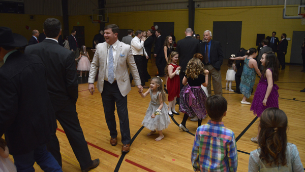 The Selma-Dallas County YMCA held its annual father-daughter dance Friday night.