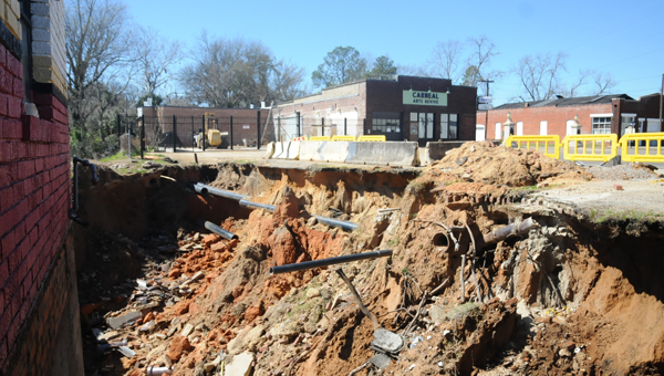 Repairs are soon to begin on repairing erosion along Water Avenue.