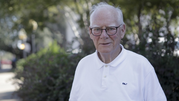 Daniel Clancey, a special agent for the FBI in 1965, revisited Selma on Monday.   --Alaina Denean Deshazo